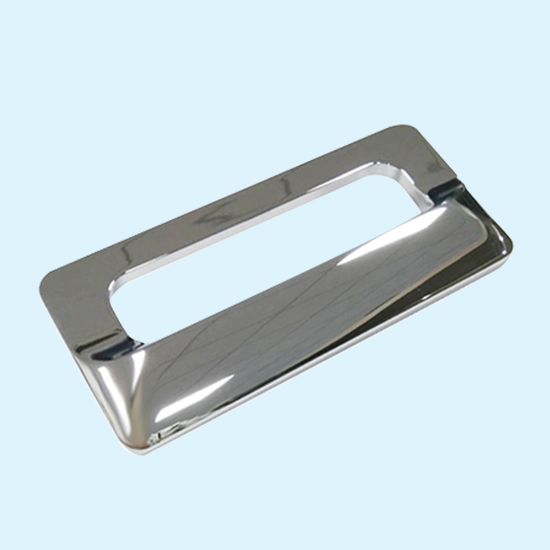 Chinese Customized Zamak Mold Cavity  Die Casting Furniture Hardware Zinc Handle With Chrome Plated