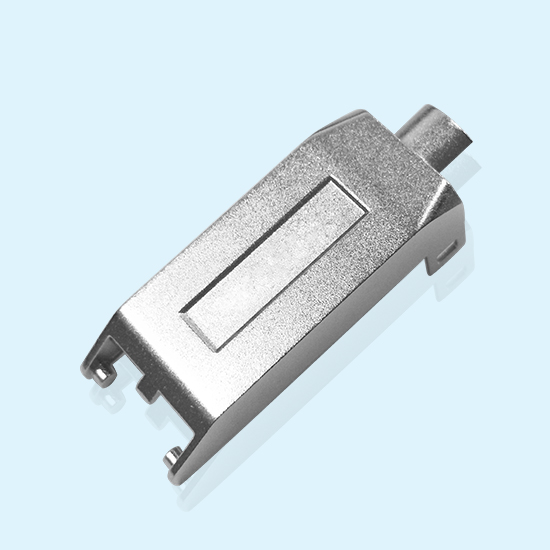 High Pressure Die Casting Solution For Zinc Alloy Rj 45 Communication Connector Shells