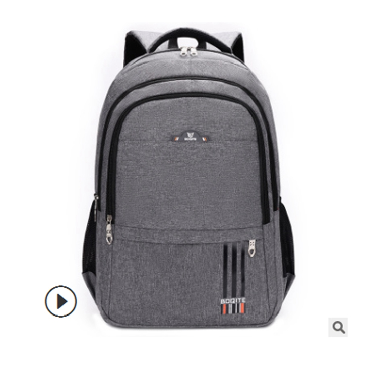 Backpack men's backpack large capacity travel bag computer casual female fashion trend high school junior high school student schoolbag