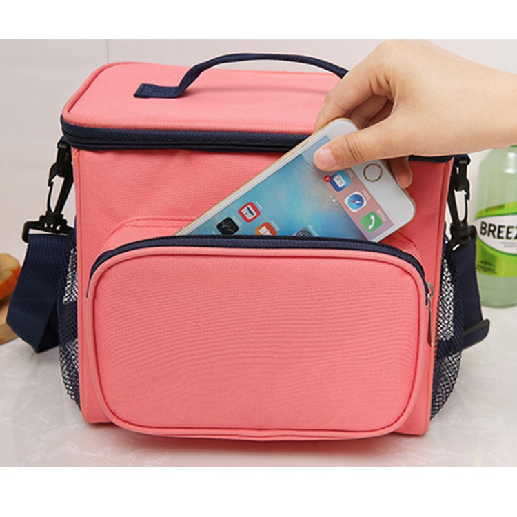 Insulation Bag Cross Border Bento Bag Lunch Box Insulation Bag Large Capacity Picnic Bag Ice Pack Takeaway Incubator Customized