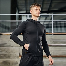 Workout Clothes Running Quick-drying Tights Training Room Sports Suit Basketball Equipment Morning Running Clothing Suit 13