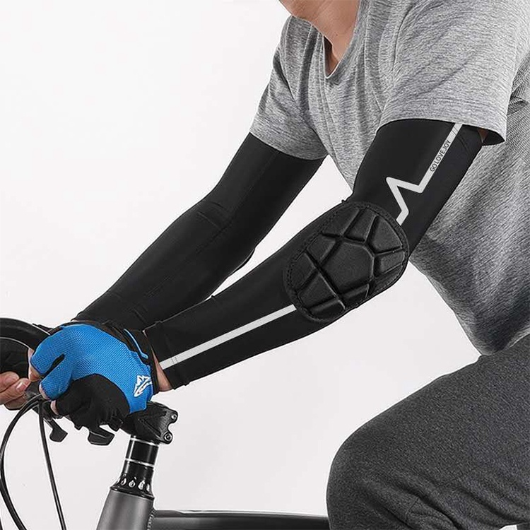Sun Protection Hand Sleeve Arm Guard Men's Sleeve Arm Cover Ice Silk High Elastic Collision Sports Elbow Support