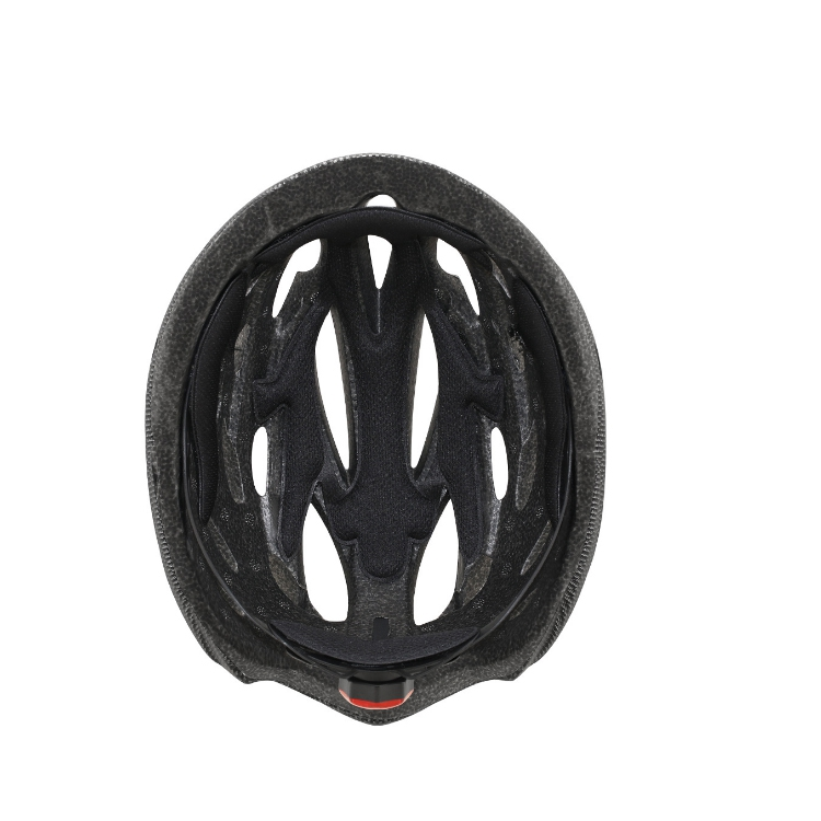 Road And Mountain Bike Riding Helmet With Lens And Brim Tail Light