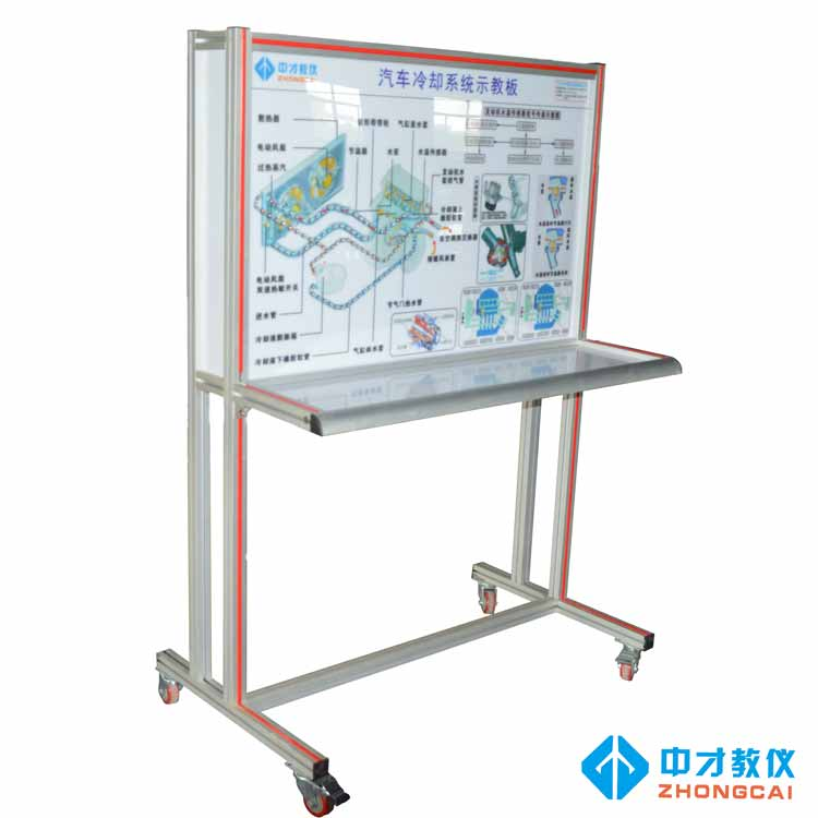 Automobile engine cooling system training platform