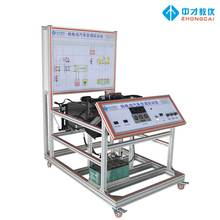Pure electric car air conditioning system training platform