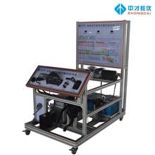 Pure electric vehicle drive system training platform
