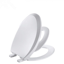 V shape elongated toilet seat cover PP