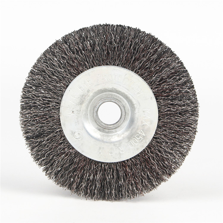 Durable Stainless Steel Wire Wheel Brushes Ideal For Paint Removal And General Cleaning