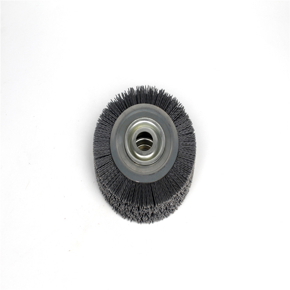 Abrasive Nylon Bristle Wheel Brushes Ideal For Deburring Of Auto Spare Parts And Mechanical Parts