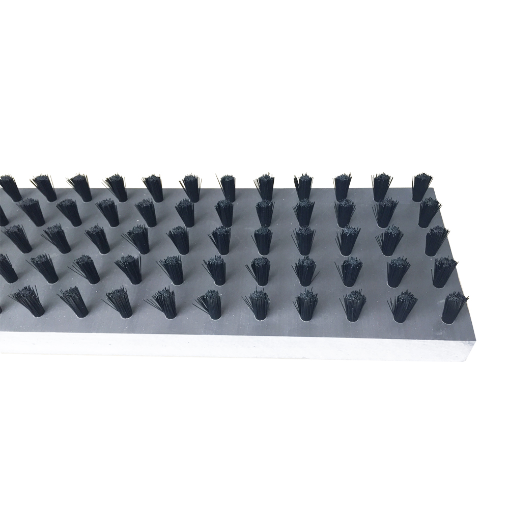 Staple Set Brush Tables With Nylon Bristle And Pvc Base For Sheet Metalworking CNC Turret Punch Press Table