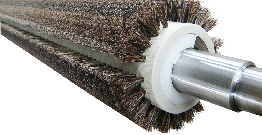 Application of Bursten brushes in the hardware, building materials and textile industries