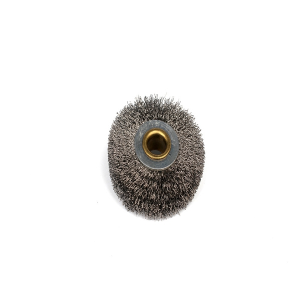 crimped steel wire wheel polishing brush roller