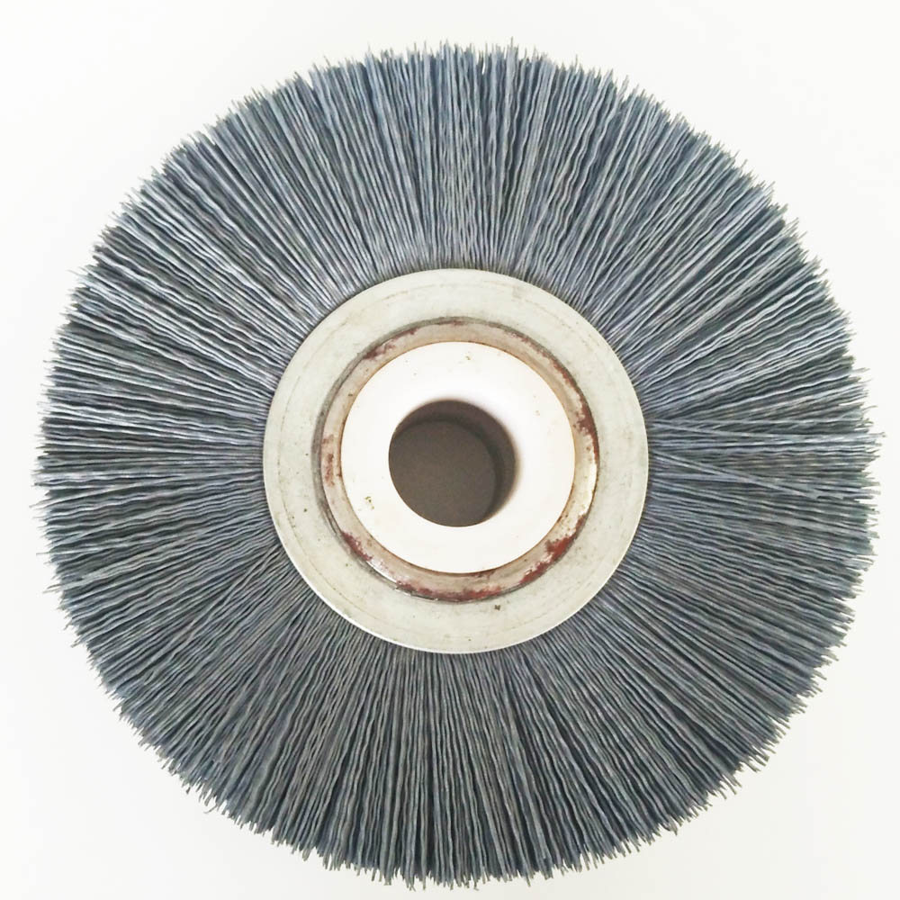 Long Trim and Low density abrasive nylon wheel brush