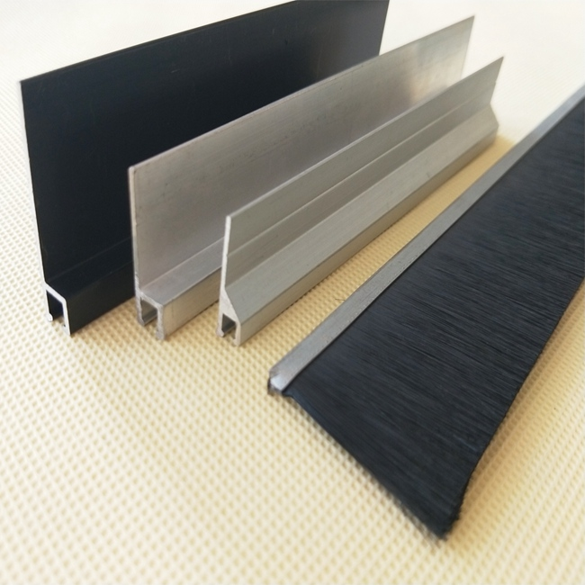 4MM RESIDENTIAL STRIP BRUSH AND GARAGE DOOR SEALS