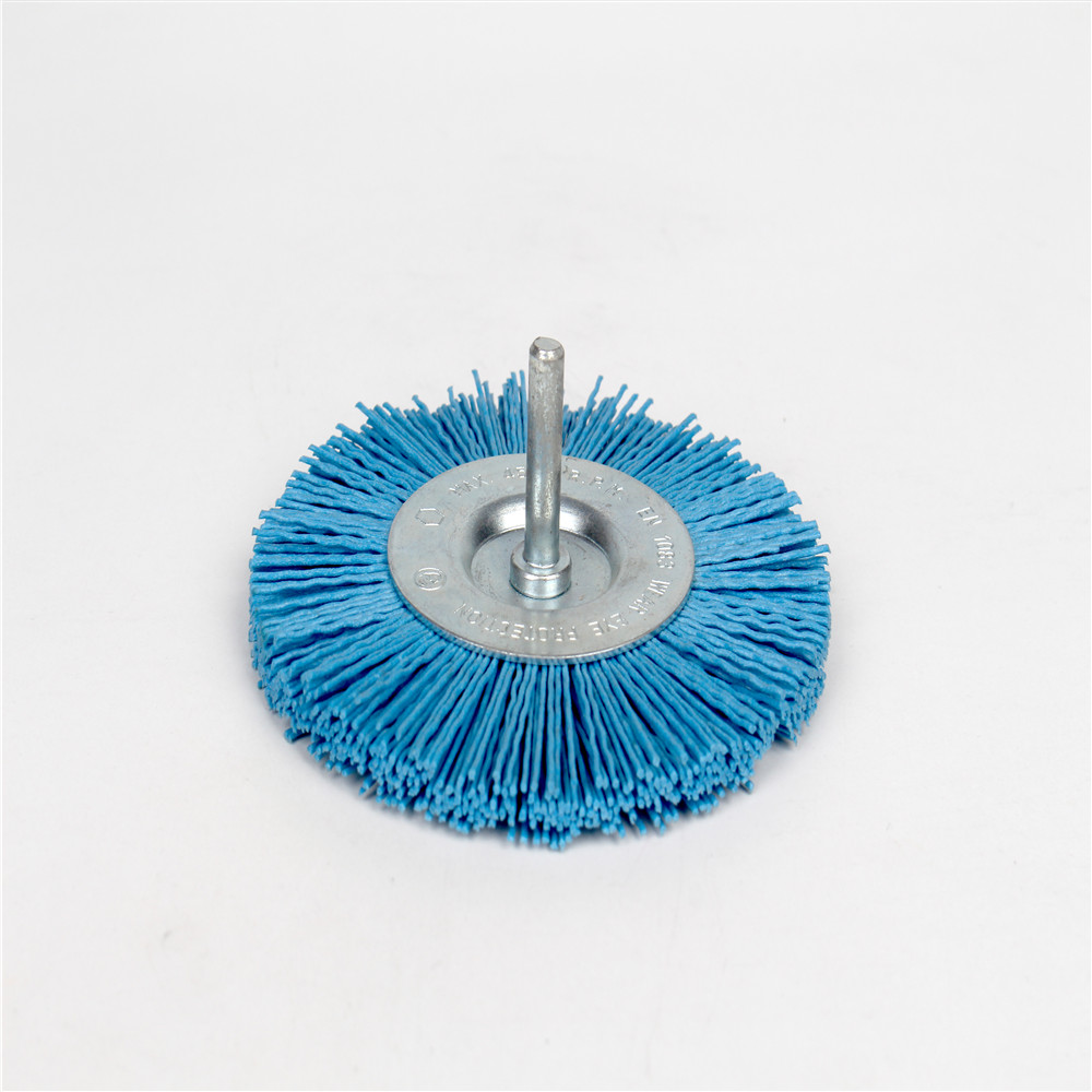 4 inch Nylon Wheel Brush  Fine 240 Grit