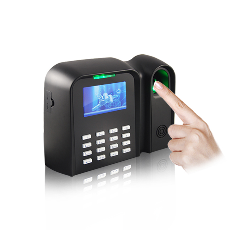 3 Inch TFT Screen Fingerprint Time Attendance System With Auto Status QCLEAR C