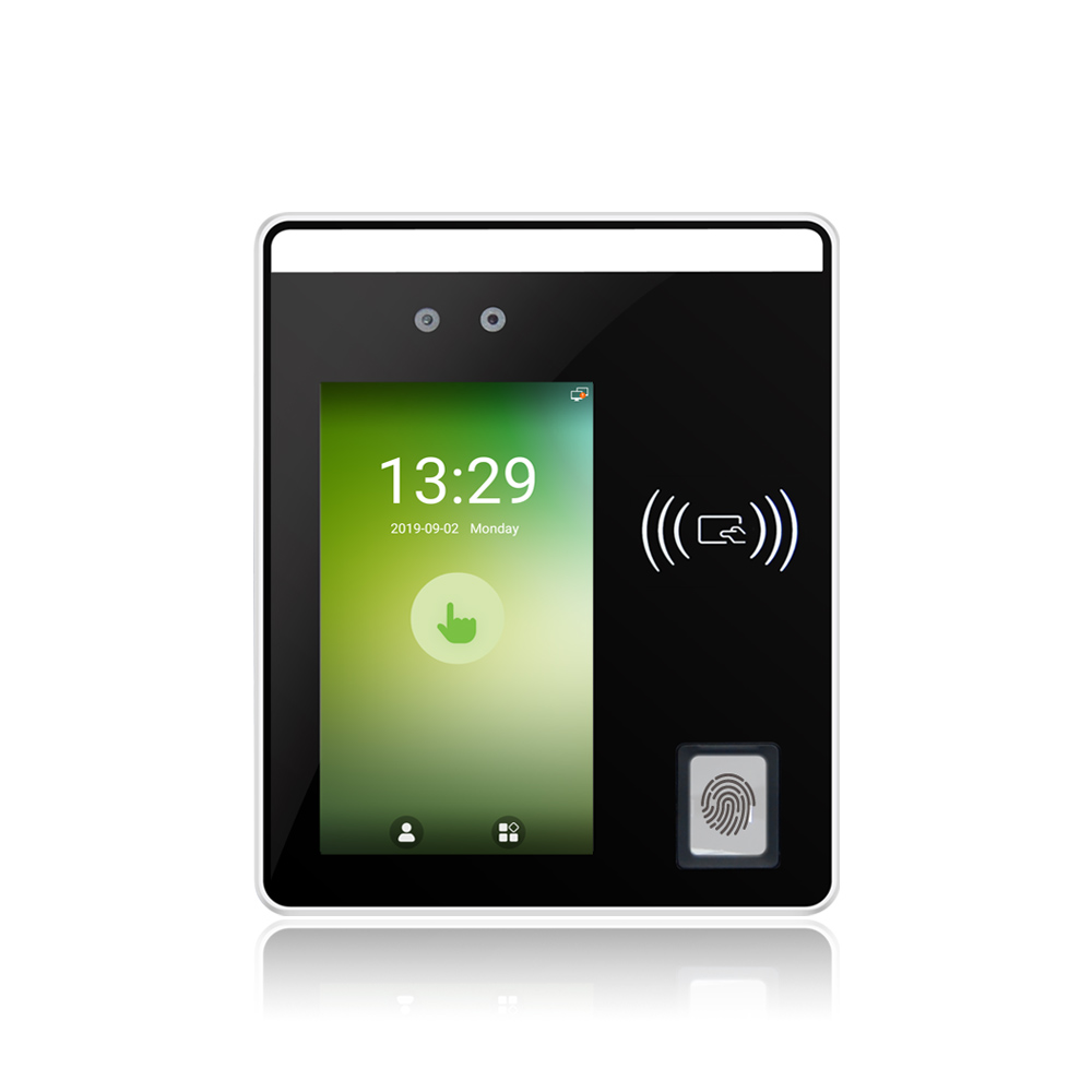 Facial Recognition Fingerprint Terminal With 5inch Touch Display Speedface H5