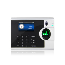 Fingerprint Time Attendance System With USB Port Support ID Card Reader 3000T C