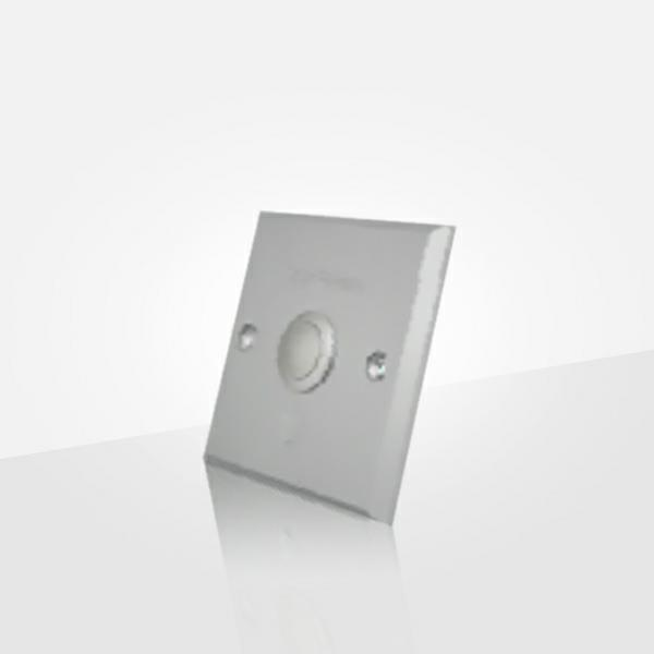 Exit Button Has Aluminium Panel And Flat Gray Button ( Poc6070)