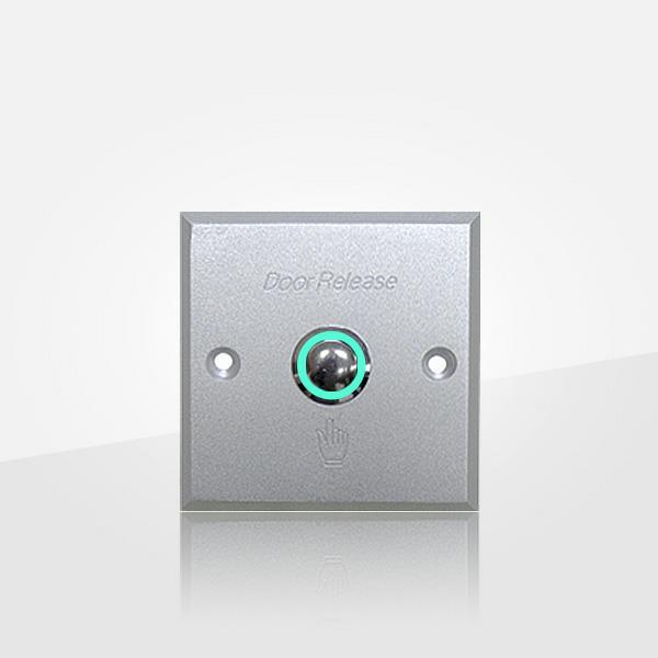 Exit Push Button Has Nickel-plated Copper With Led ( Poc6065)