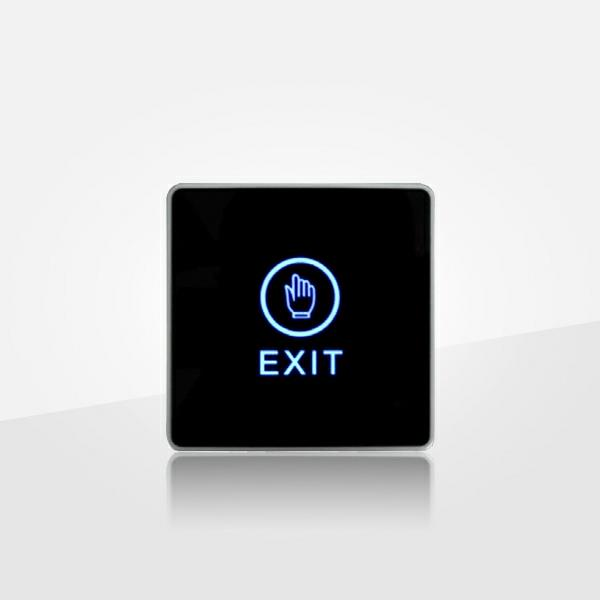 Exit Push Button has Touched switch with hand shaped symbol ( POC8080 )