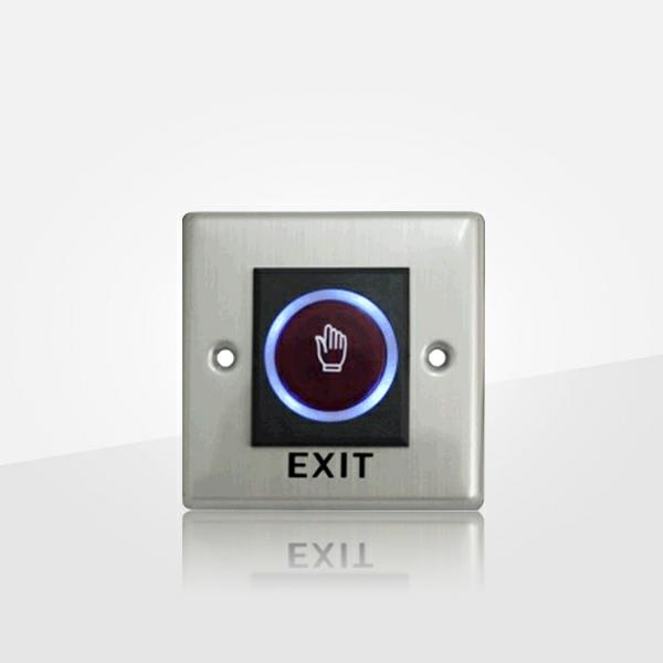 Waterproof Push Button Exit Switch For Access Control (poc7070)