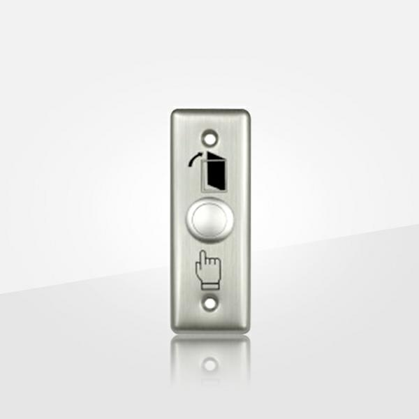 Exit Push Button Has Stainless Steel Panel And Flay Gray ( Poc9070 )