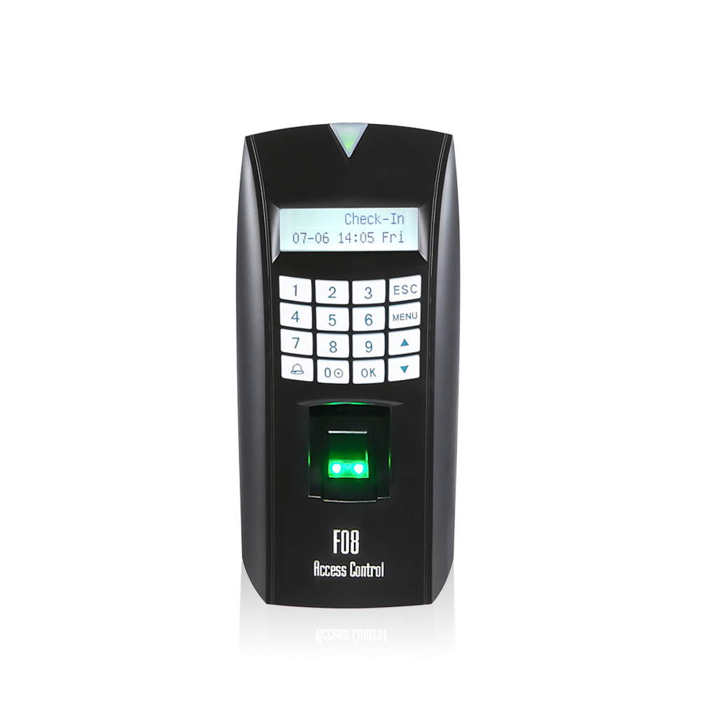 Biometrics Fingerprint Scanner Access Control Machine (F08)