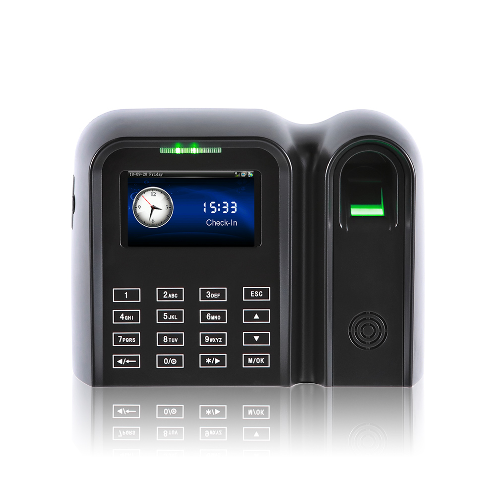 3 Inch TFT Color Touch Screen Fingerprint Time Attendance System  (QCLEAR-TC)