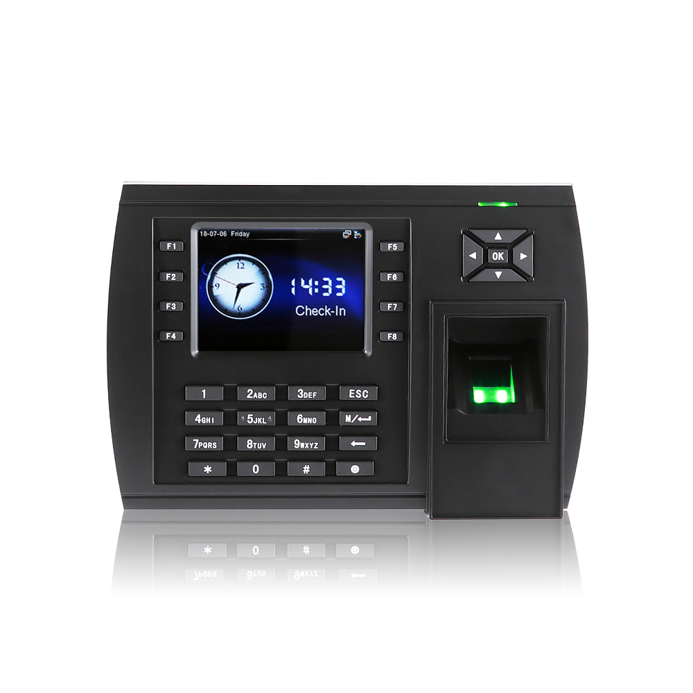 3.5 inch TFT Screen of Big capacity Fingerprint Attendance Machine With ADMS ( TFT500 )