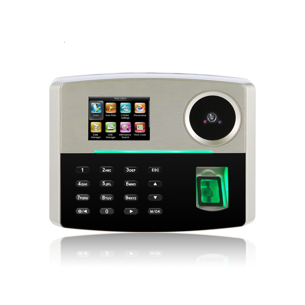 3'' TFT Color Screen of Fingerprint & Palm Recognition Time Attendance System ( GT800 )