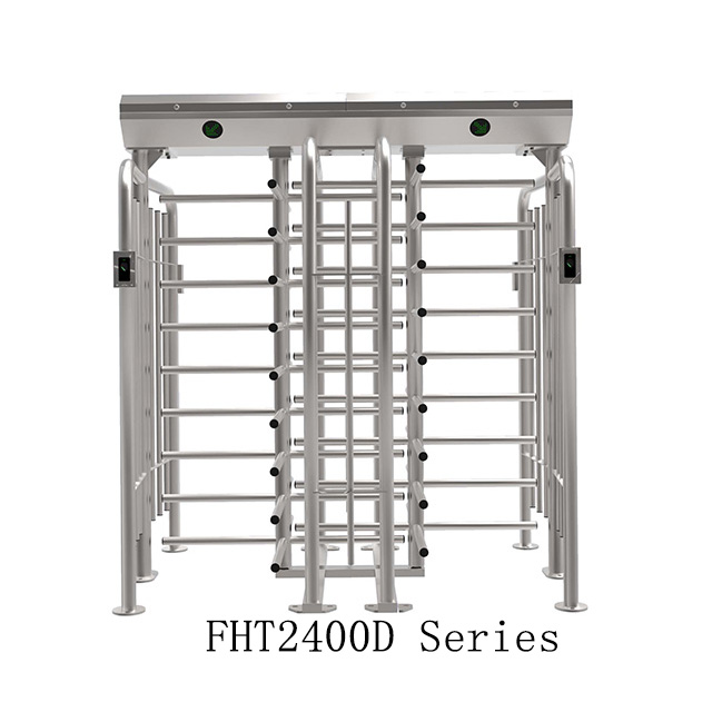 Double Channel Rotating Barrier For Full Height Turnstile (FHT2400D)