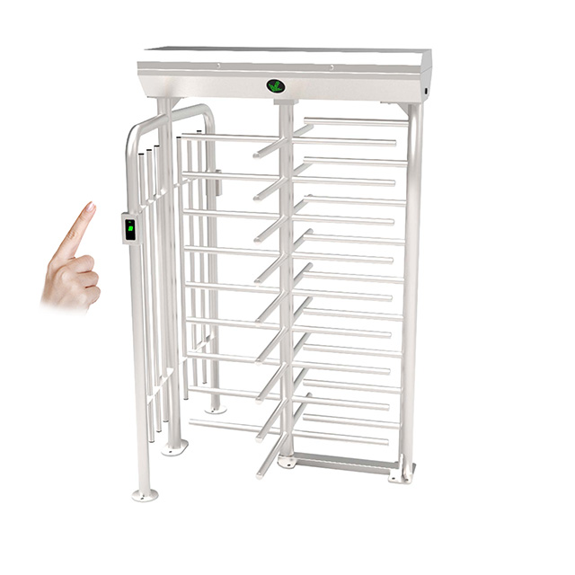Single SUS304 Stainless Full Height Turnstile (FHT2400)