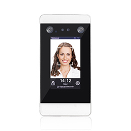 4.3 inch Touch screen facial recognition system access control