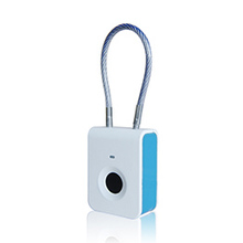 Fingerprint Waterproof small pad lock for Bike Cabinet (S5)