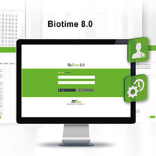 Web Based Time Attendance Management Software With Phone APP (BioTime 8.0)