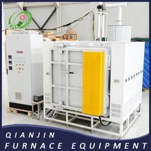 Dispensing and degreasing furnace