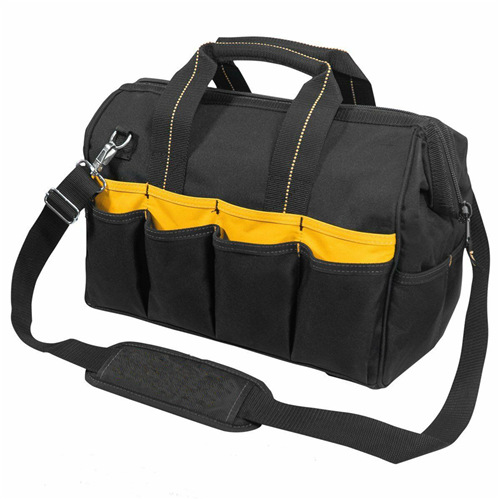 33 Pockets Tool Bags With Pop-Open Design