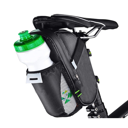Waterproof Bike Bags Under Seat Pack For Mountain Road Bicycles With Bottle Pouch
