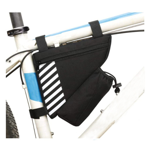 Triangle Bag Waterproof Tool Bag, Bike Touring, Commuting Full Frame Bag Waterproof Cycling Bag Pannier