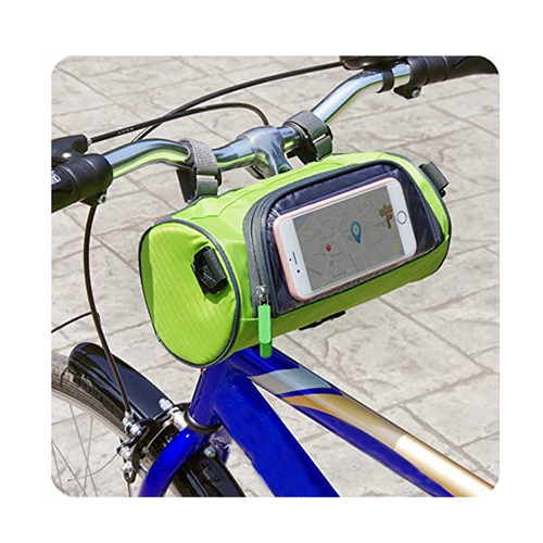 Waterproof Bicycle Handlebar Bag with Transparent Pouch Road Bicycles Accessories Top Tube Saddle Seat Bag