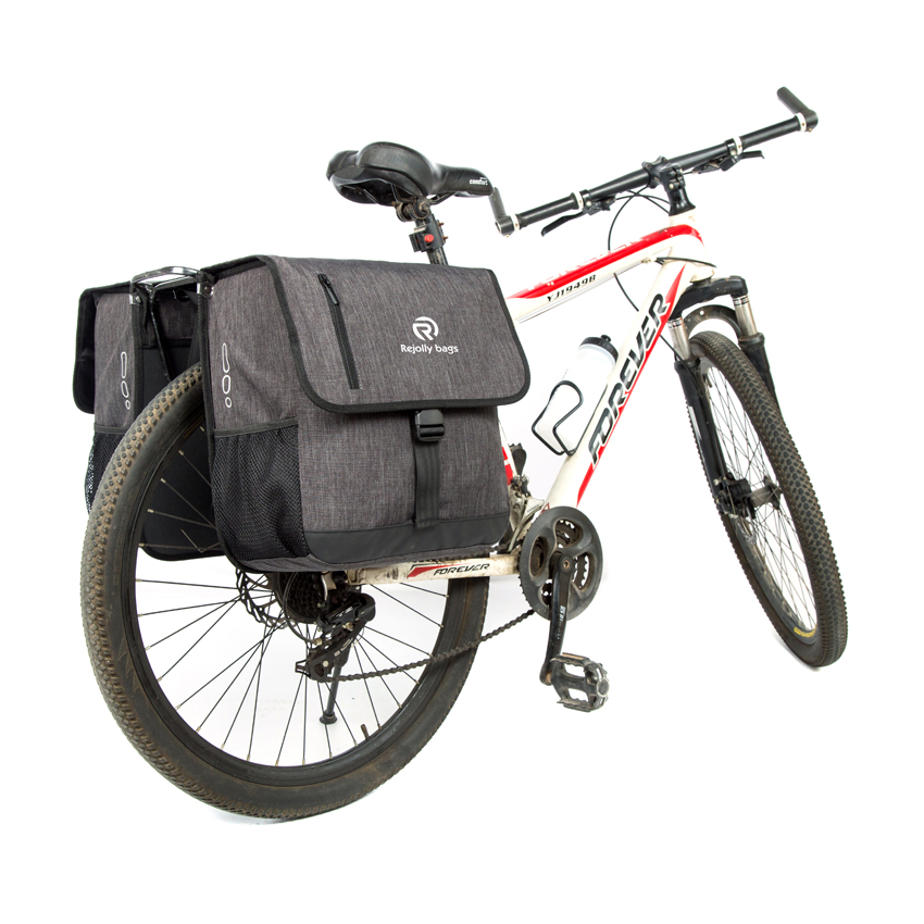 Rear Bicycle Pannier Riding Bag Cycling Gear Twin Pannier