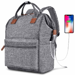 Computer Backpack With Usb Port Multipurpose Daypack College Rucksack Business Travelling Laptop Backpack