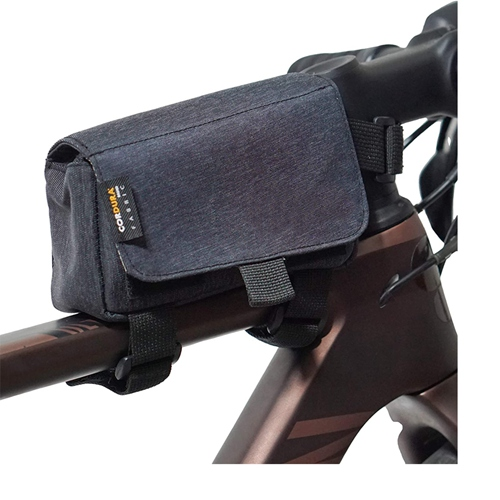 Bike Top Tube Bag Bicycle Frame Bag, Bike Storage Bag Made With Cordura Fabric