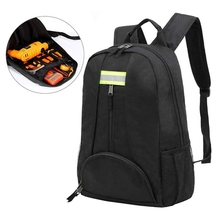Waterproof Tool Backpack Functional Backpack Best Tool Bag For Wrench, Screwdrivers With Durable Shoulders