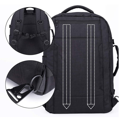 Durable Waterproof Best Men School Bags Computer Laptop Backpack High Grade Business Backpack Laptop Travel