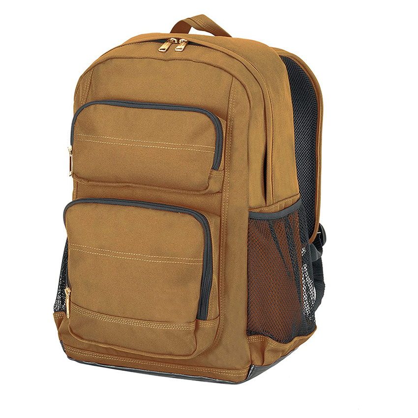 Multi - Functional Work Bag with Padded Laptop Sleeve and Tablet Storage for A Brown Standard Work Backpack