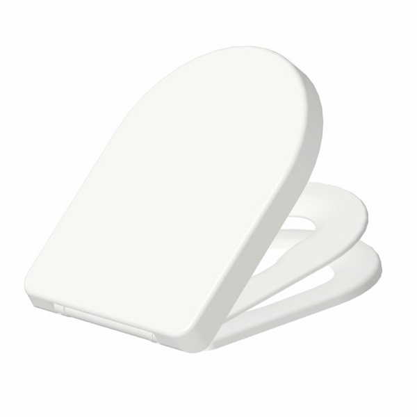 High End Duroplast Toilet Seat D Shape for Families with Children