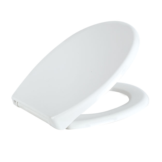 Oval Shape PP Toilet Seat Soft Close