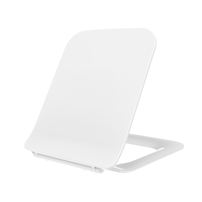 Ultra Square Shape UF Toilet Seat Soft Closing